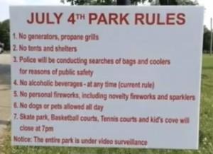 NWO-Park-rules